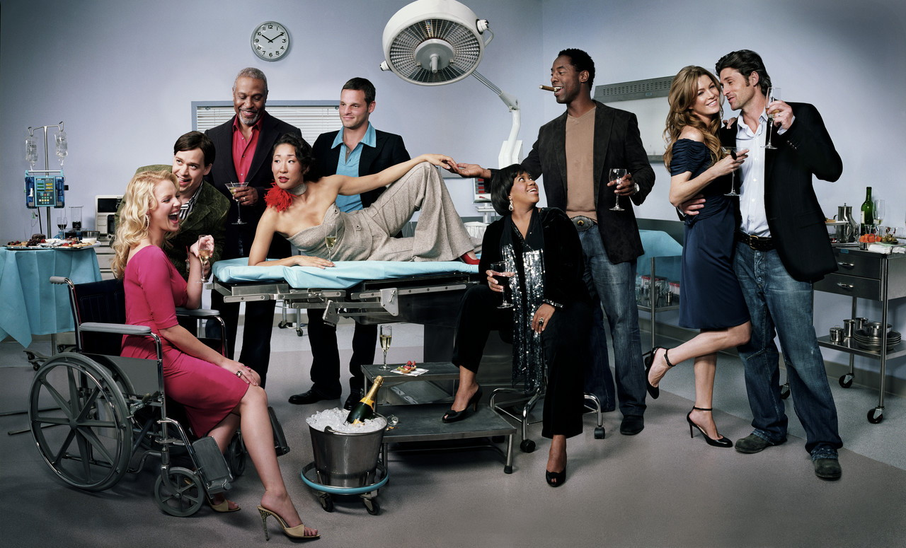 A mini review of Grey's Anatomy | Black Roses