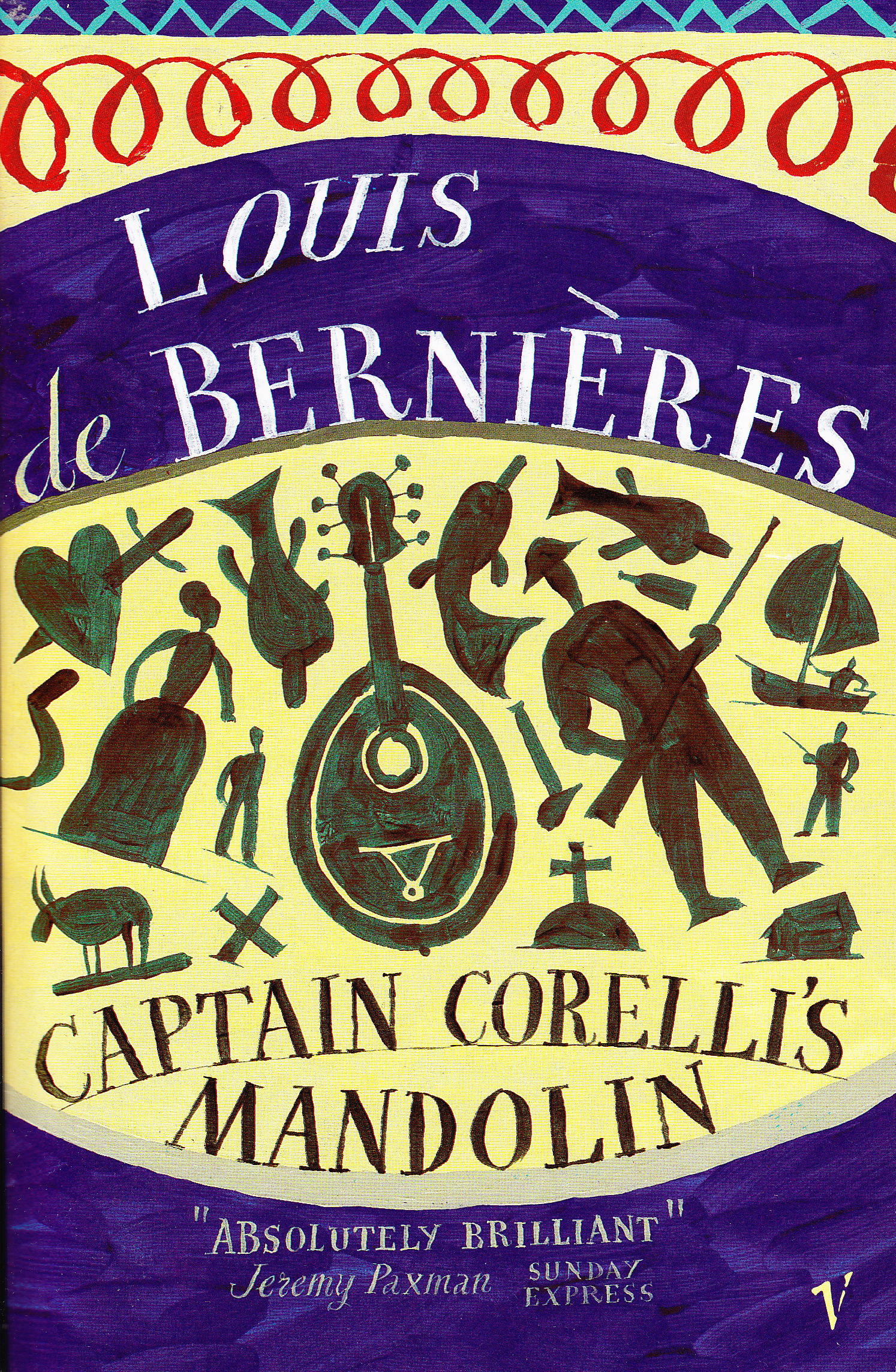 Captain Corelli's Mandolin- Louis de Berniéres (Book ...